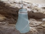 Wire Wrapped Sea Glass Jewelry