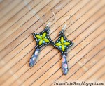 Dangle Beaded Earrings Tutorial