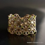 Geometric Integrating Nets Bracelet