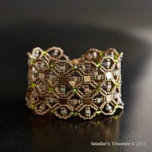 Geometric Integrating Nets Bracelet