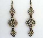 SuperDuo Seed Bead Earrings