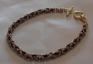 Chainmaille Byzantine Weave