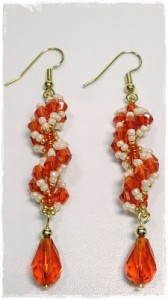 Spiral Stitch Earrings