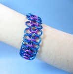 European 4 in 1 Chain Mail Bracelet