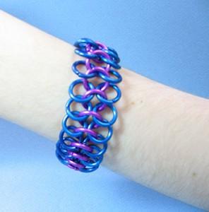 European 4 in 1 Chain Mail Bracelet