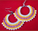 Free Brick Stitch Seed Bead Patterns small brick stitch earrings purple & green brick stitch earrings increases and decreases in brick stitch free brick stitch seed bead patterns circular brick stitch earrings circular brick stitch brick stitch and irregular edges