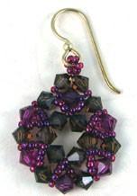Easy Crystal and Seed Bead Earrings
