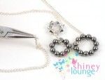 4 in 1 Crystal and Chain Necklace