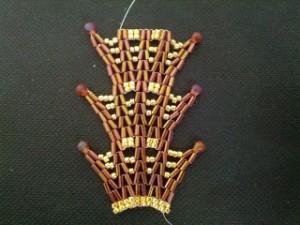 Bugle and Drop Bead Bracelet
