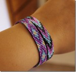 Bright Native Loom Bracelets