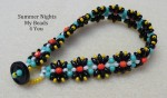 Summer Nights SuperDuo Beadwoven Bracelet