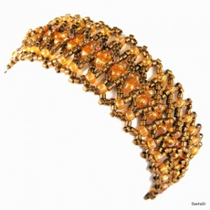 All Seed Bead Bracelet