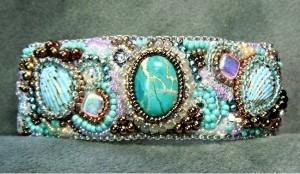 Aquamarine by Beaded Jewelry Diva