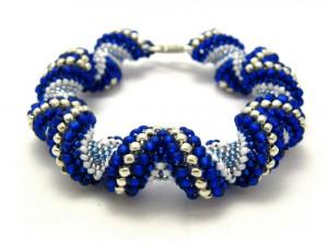 Zig-Zag Cellini Spiral Bracelet