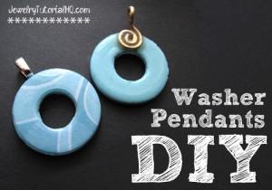 2-Sided Washer Pendants