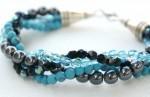 Twisted Bead Strand Style Bracelet