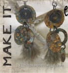 Turn Shrink Plastic Into Rustic Metal Earrings