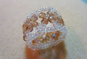 Sparkling Crystal Champagne Rings