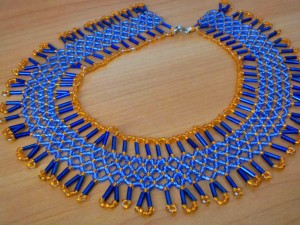 Netted Collar Bead Pattern
