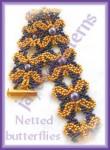 Netted Butterfly Bracelet