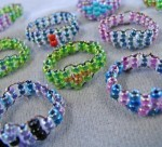 Woven Seed Bead Ring Tutorial