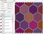 Patchwork Peyote Stitch Pattern