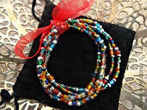 Christmas Lights Bracelets