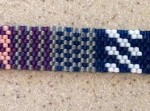 Peyote Stitch Sampler Bracelet