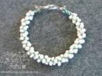 Embroidery Thread and Seed Bead Kumihimo Bracelets