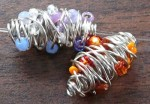 DIY Wire Beads, Wild and Crazy