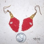 Christmas Light Bulb Earring Pattern