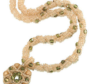 Beaded Rope Your Wreath Pendant
