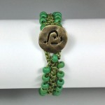 Turkish Flat Bead Crochet Bracelet Tutorial