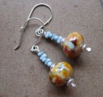 Peanut Bead Earrings