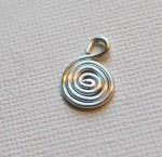 Spiral Wire Charm