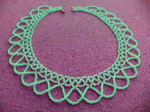Seed Bead Necklace Netting
