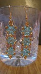 Twin Bead Earrings