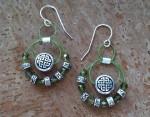 Celtic Bead Dangles Earrings