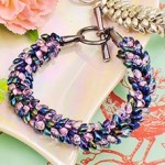 Make a Beaded Kumihimo Bracelet with Seed Beads