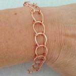 Lucky Horseshoe Handmade Wire Chain