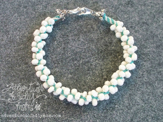 Embroidery Thread And Seed Bead Kumihimo Bracelets  Guide