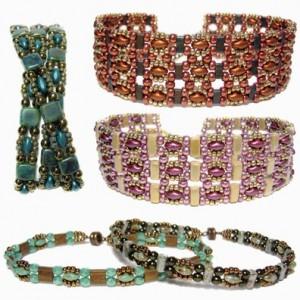 Trestle Band Seed Bead Bracelet