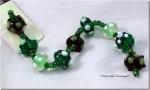 Easy Green Glass Bead Bracelet