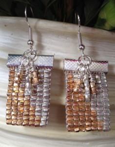 Loom Lustre Earrings