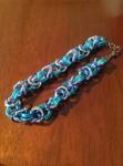 Triple Byzantine Weave Chain