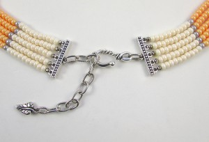 Finish a Multi Strand Seed Bead Necklace