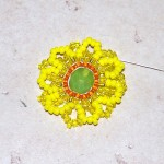 Seed Beaded Sunflower Earring Tutorial