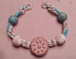 Spiral Stitch with Art Beads