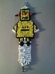 Robot Bead Loom Bracelet