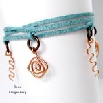 Wire Charm Wrap Anklet
